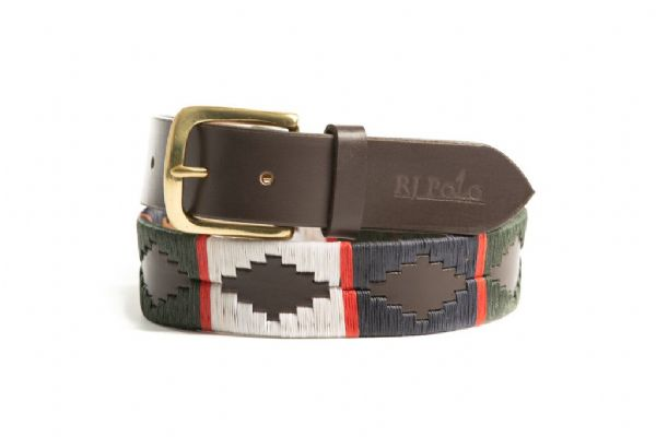 Belt (Red stripe/Navy/Olive Green/Cream) 35mm